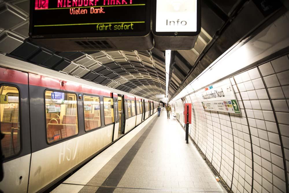 Hamburg, 28-03-2020 Hauptbahnhof U2 - 4 Station. Photo Antonino Condorelli