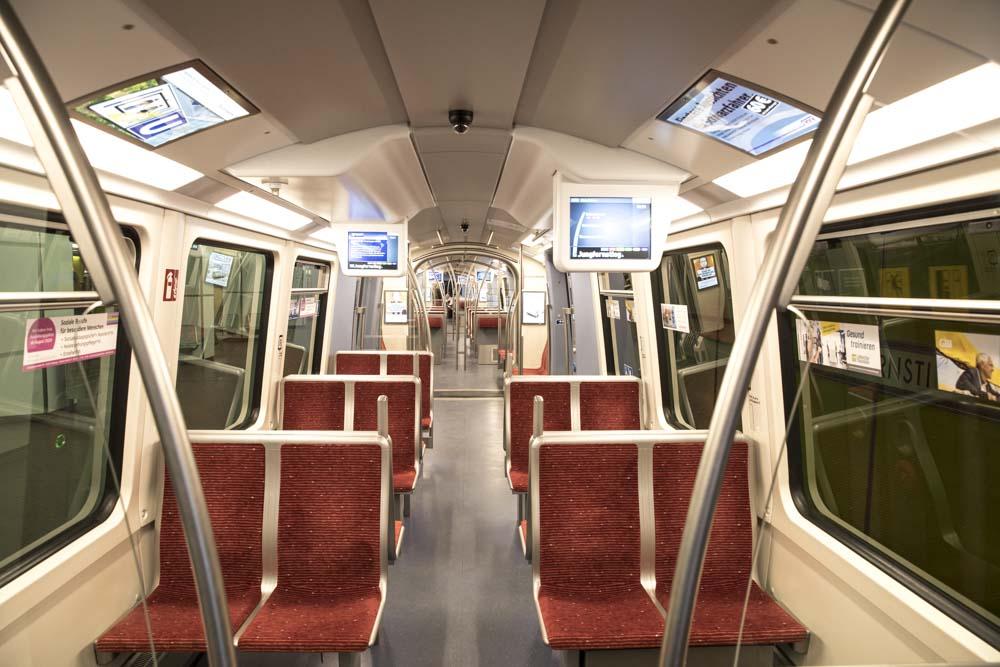 Hamburg, 28-03-2020.U-4 Ubahn Train.Photo by Antonino Condorelli