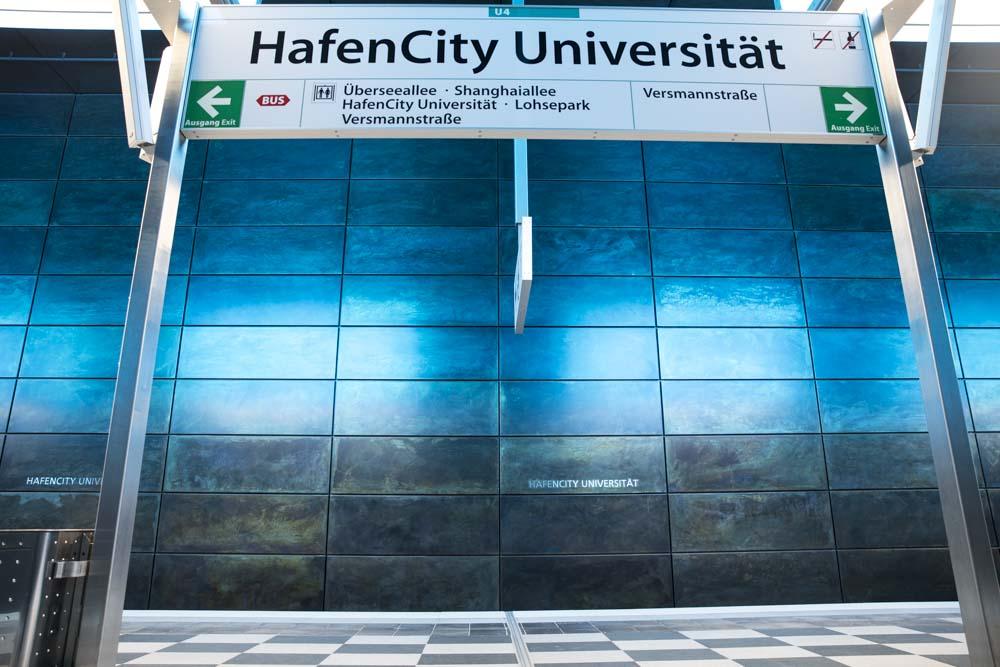Hamburg, 28-03-2020.Hafen City Station.Photo by Antonino Condorelli