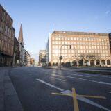 Hamburg, 28-03-2020.View of Hamburg's streetPhoto by Antonino Condorelli