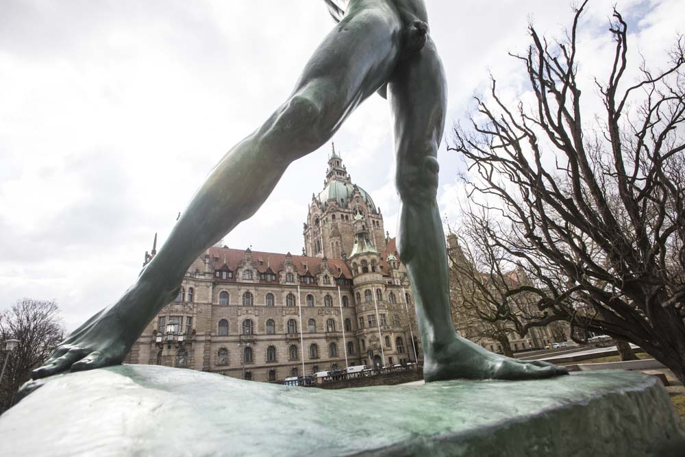 Hamburg, 28-03-2020.Hannover's MunicipalityPhoto by Antonino Condorelli